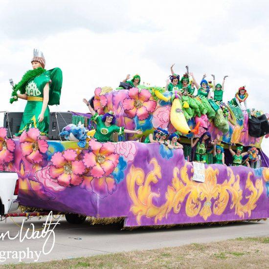 Houma Mardi Gras Float